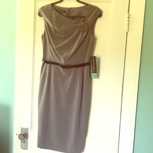 NWT Grey Pencil Jones Wear Dress